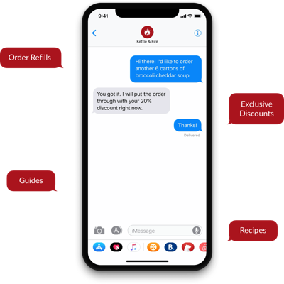 Manage by text